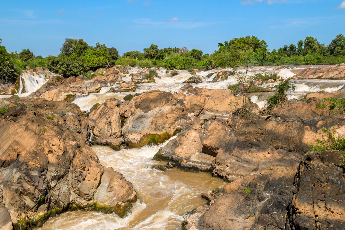 Cascadas de Tat Somphamit, 4000 islas