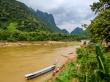 El río Ou, en Muang Ngoi