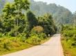 Llegando a zonas verdes de nuevo, Thakhek Loop