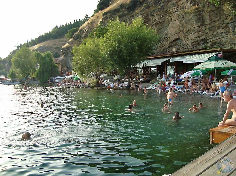 Día de verano, Ohrid