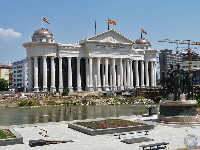 Skopje en obras