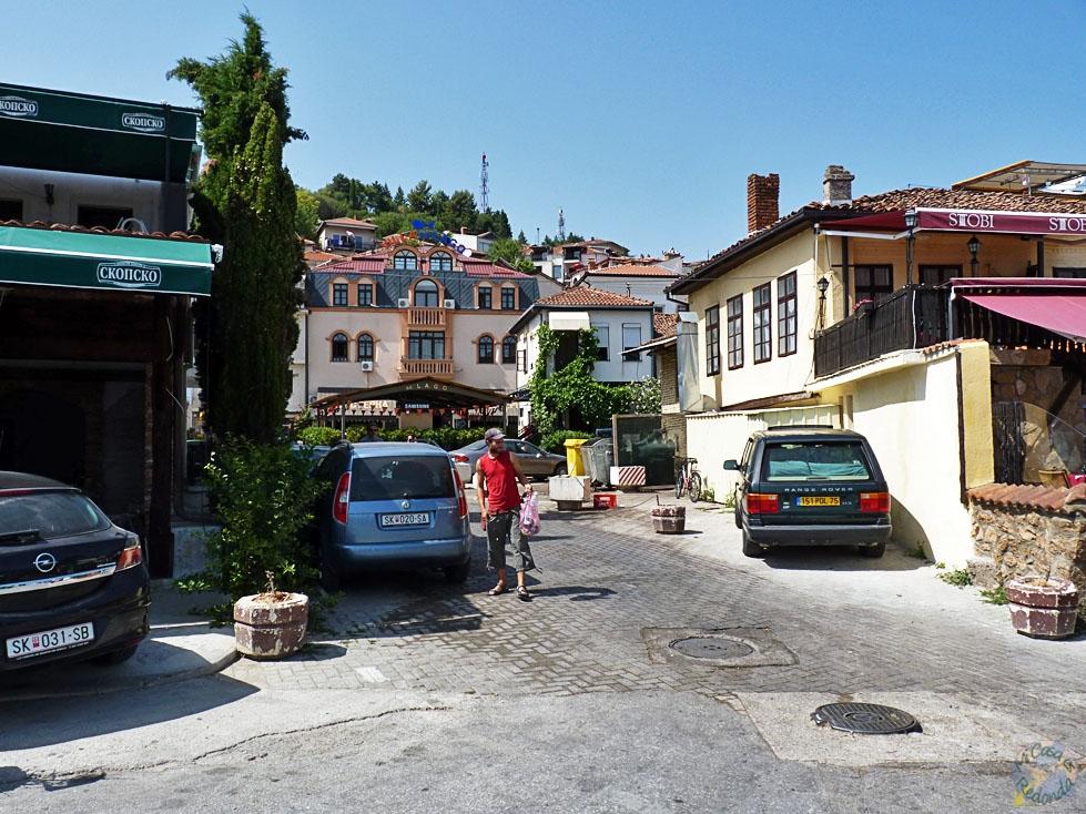 Calles del centro, Ohrid