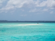 Paseando por el sandbank. Maldivas