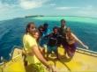 El equipo Manta Divers. Guraidhoo, Maldivas