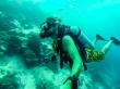 Selfie submarina. Guraidhoo, Maldivas