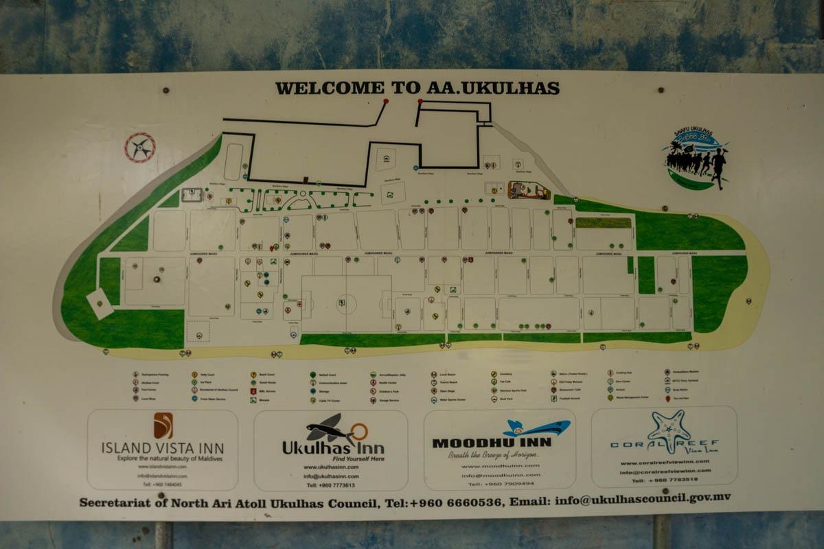 Mapa de Ukulhas