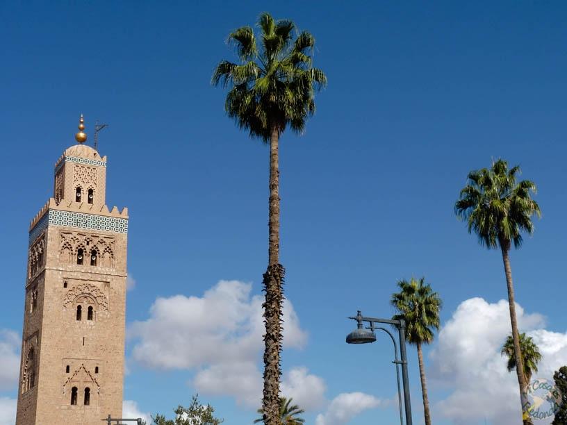 Vistas de la mezquita