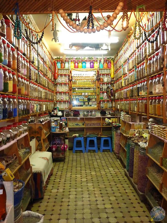 Tiendas de la Medina, Marrakech