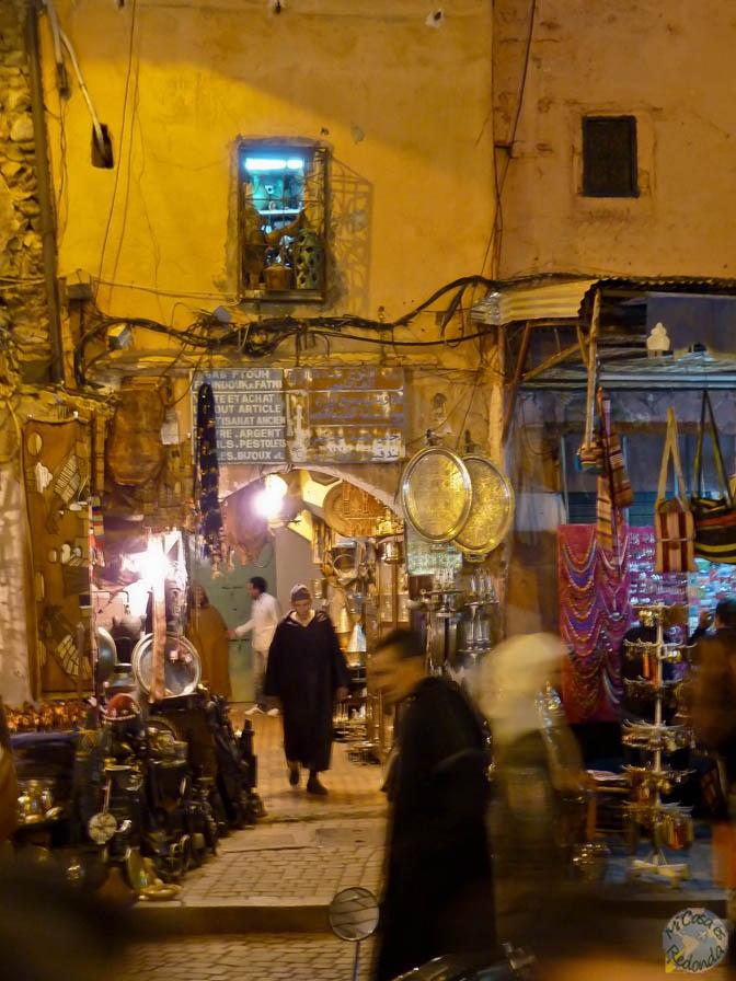 Al anochecer en la Medina
