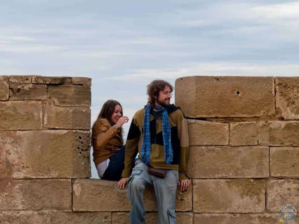 En las murallas de Essaouira