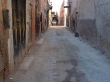 La calle de el Riad (alojamiento), facilísima de encontrar...