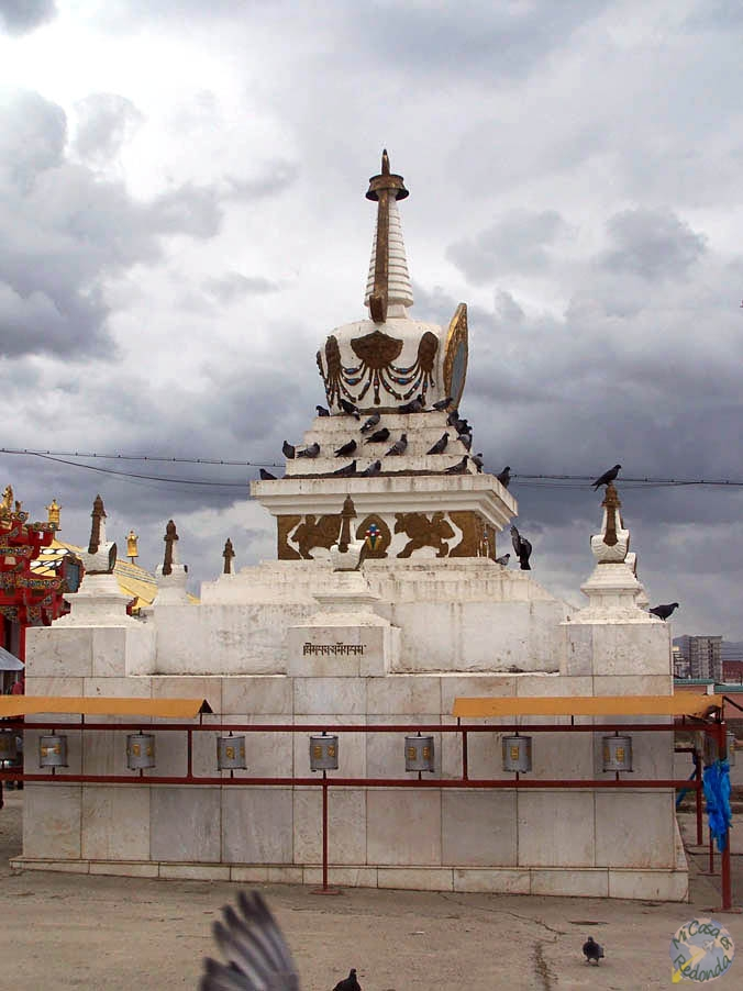 Stupa en Ulan Bator