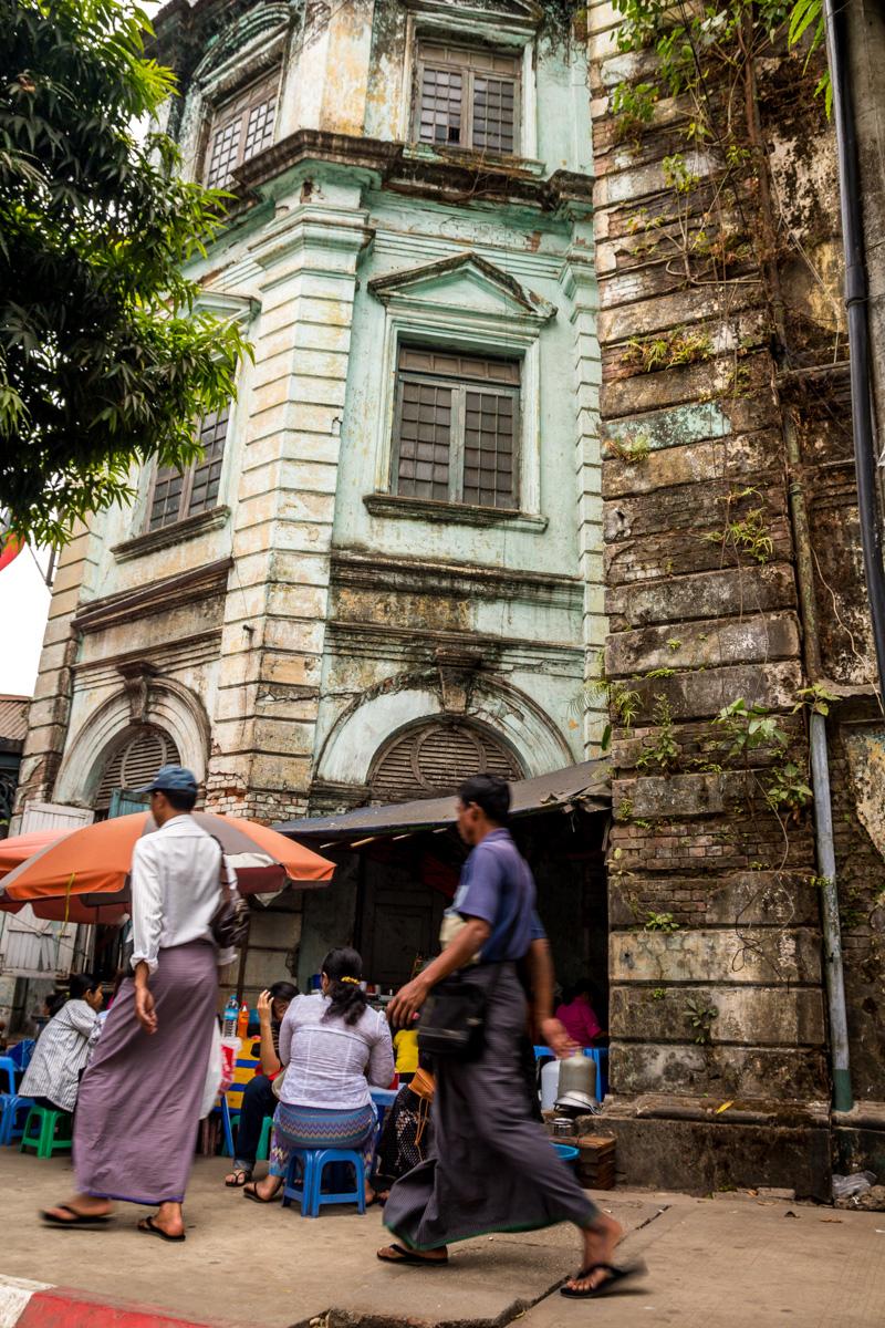 Paseando por Yangon