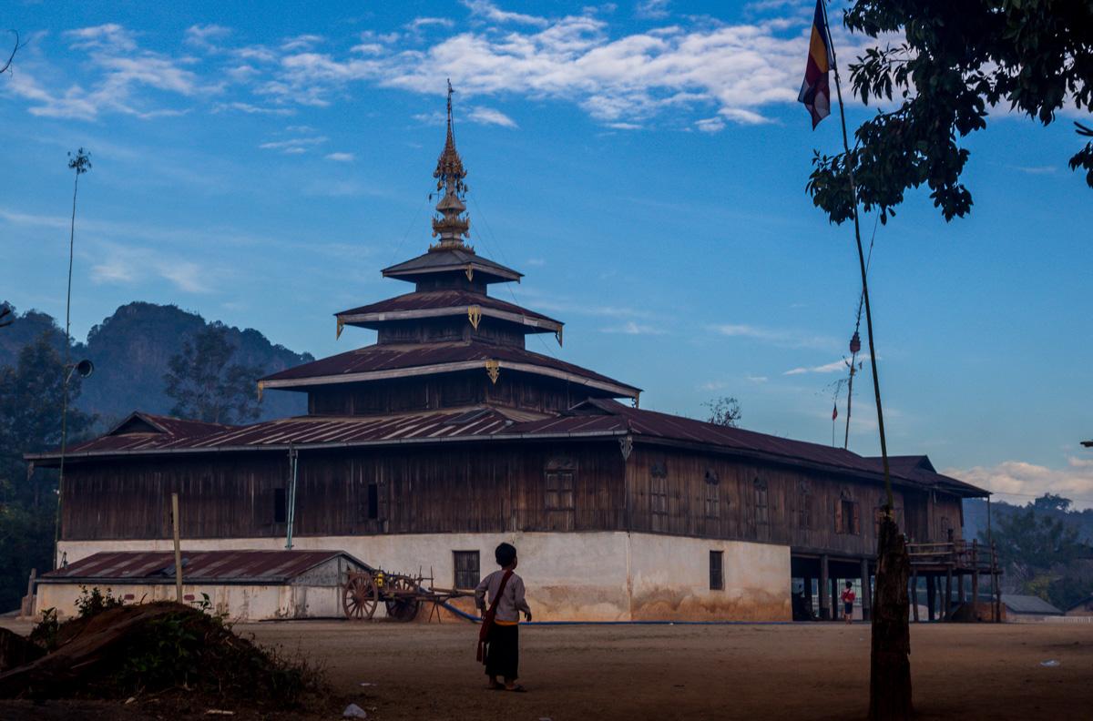 El monasterio de Pattupauk