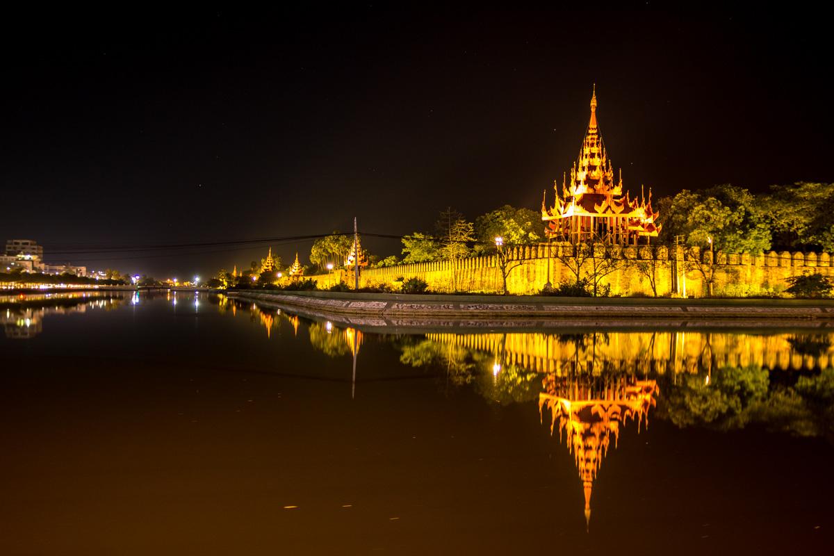 El palacio de Mandalay