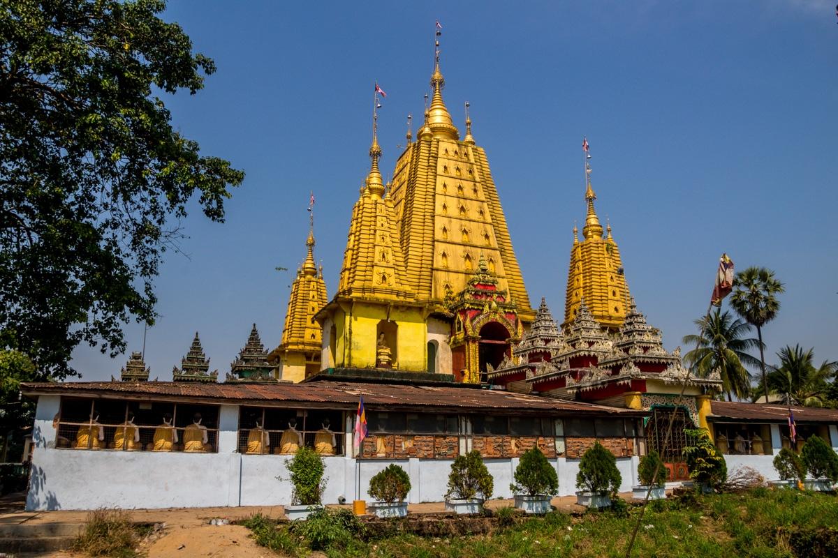 Templo en Hpa An