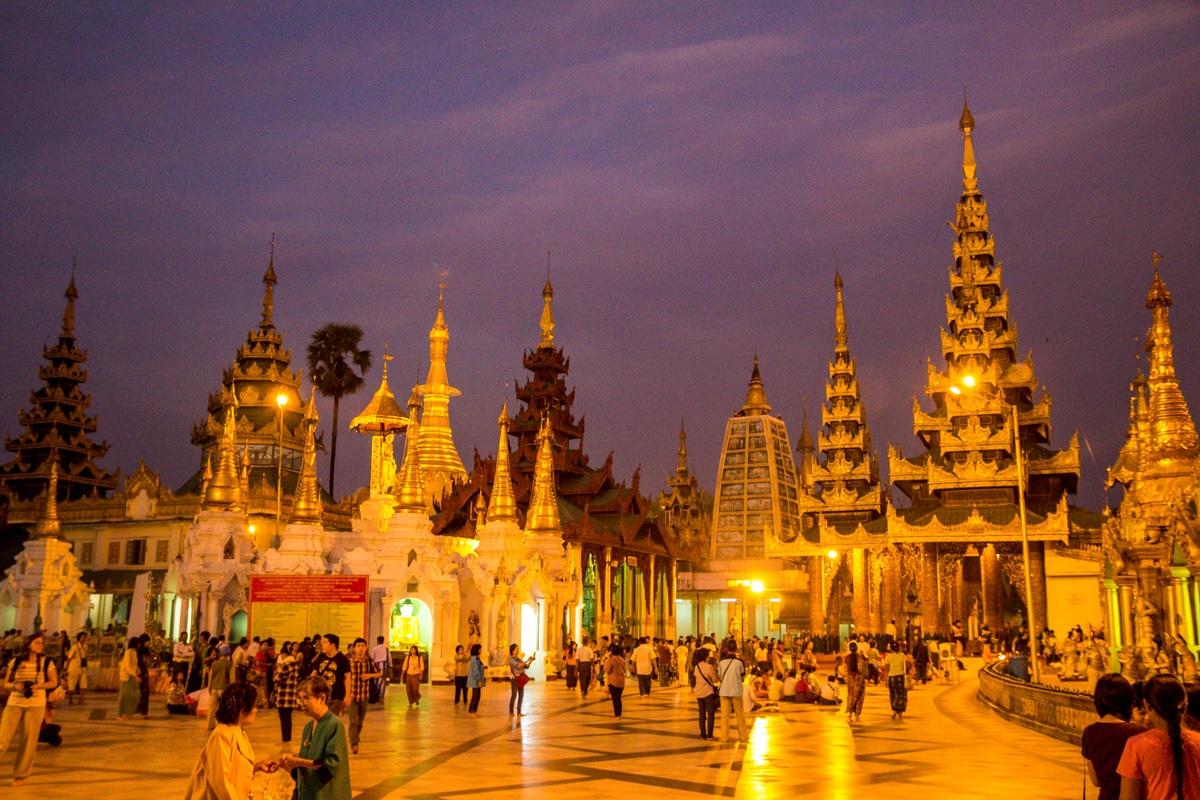 Complejo de la Shwedagon Paya, Yangon