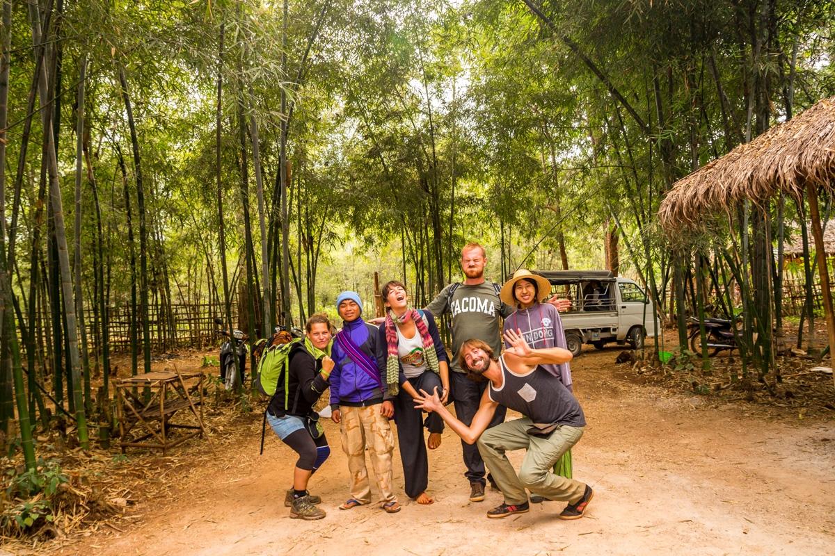 Foto de despedida! Se acabó el trekking