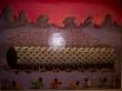 Rodillo de infieles, pinturas del interior del Buda