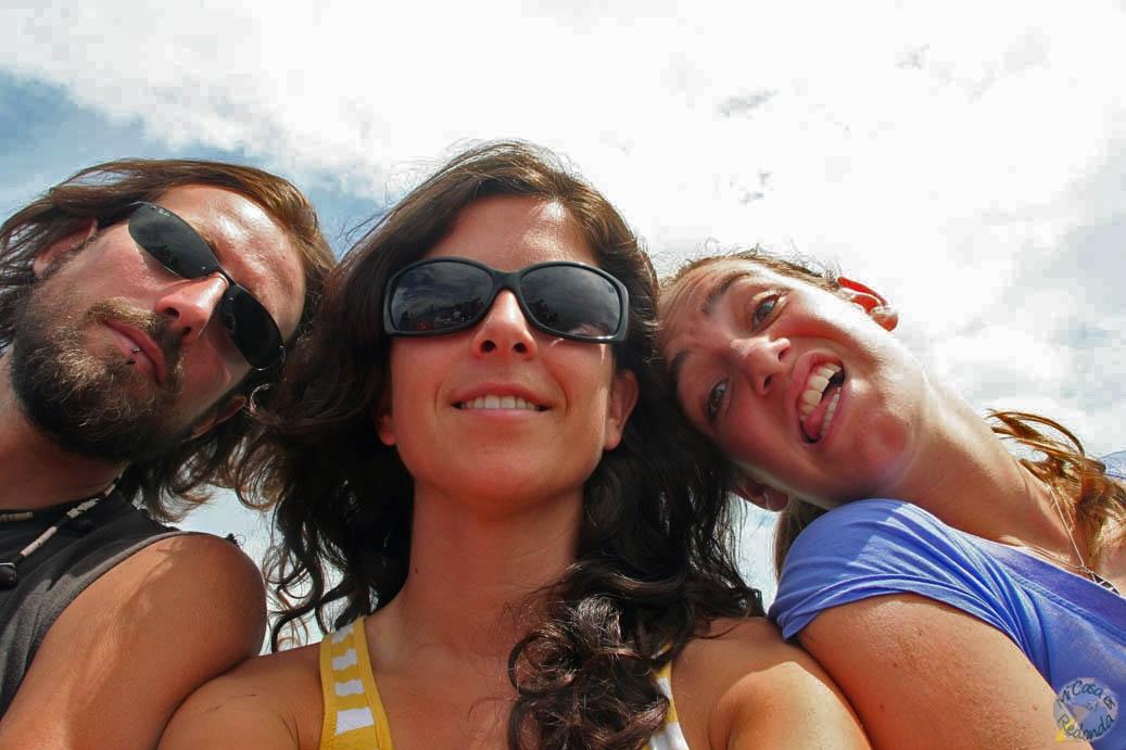 Con Anna y Molly