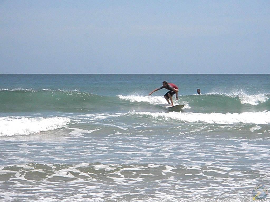 Aprendiendo surf!