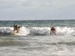 A tope con el surf