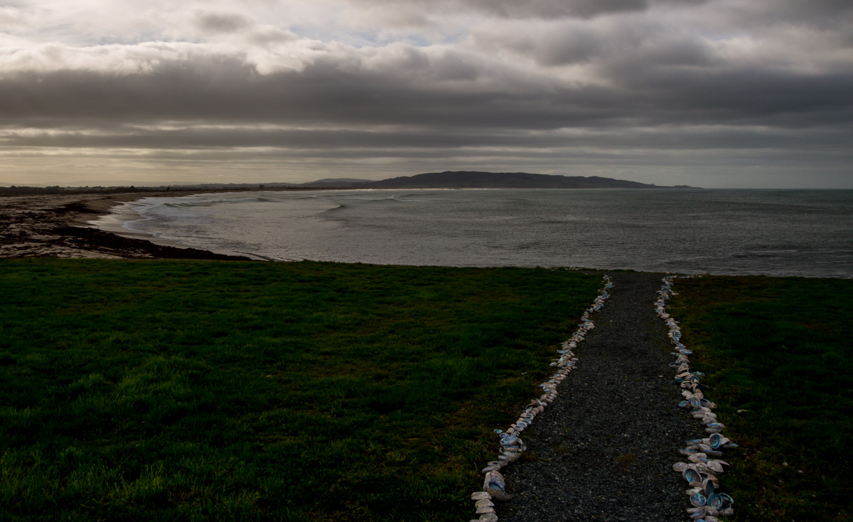 Camino de conchas en la Southern Scenic Route