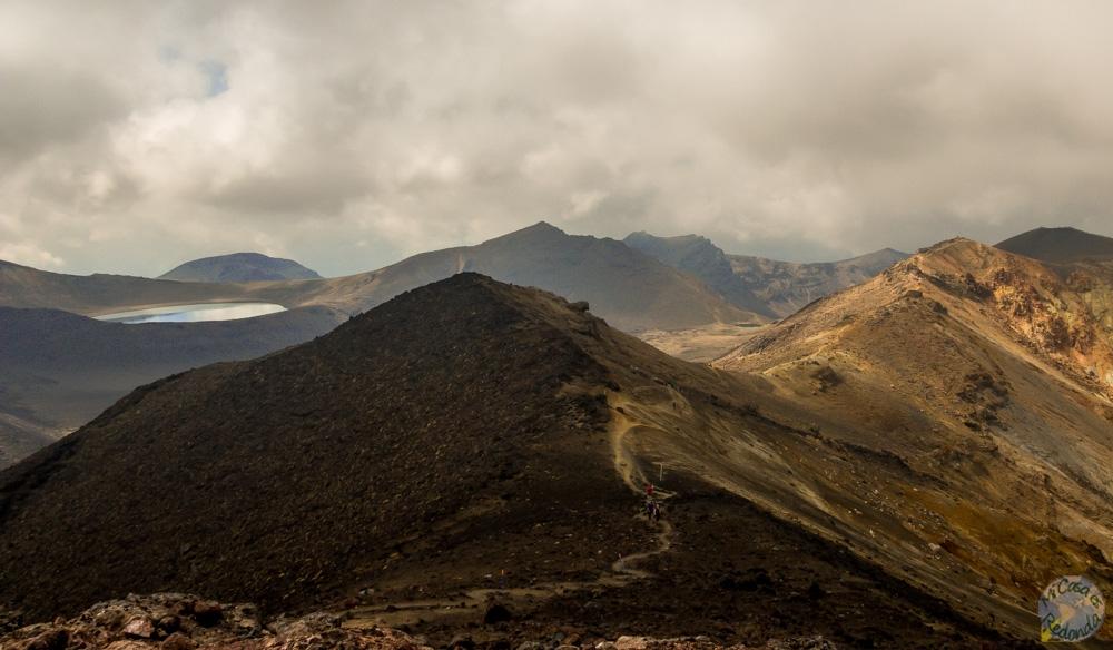 Las laderas del monte Tongariro