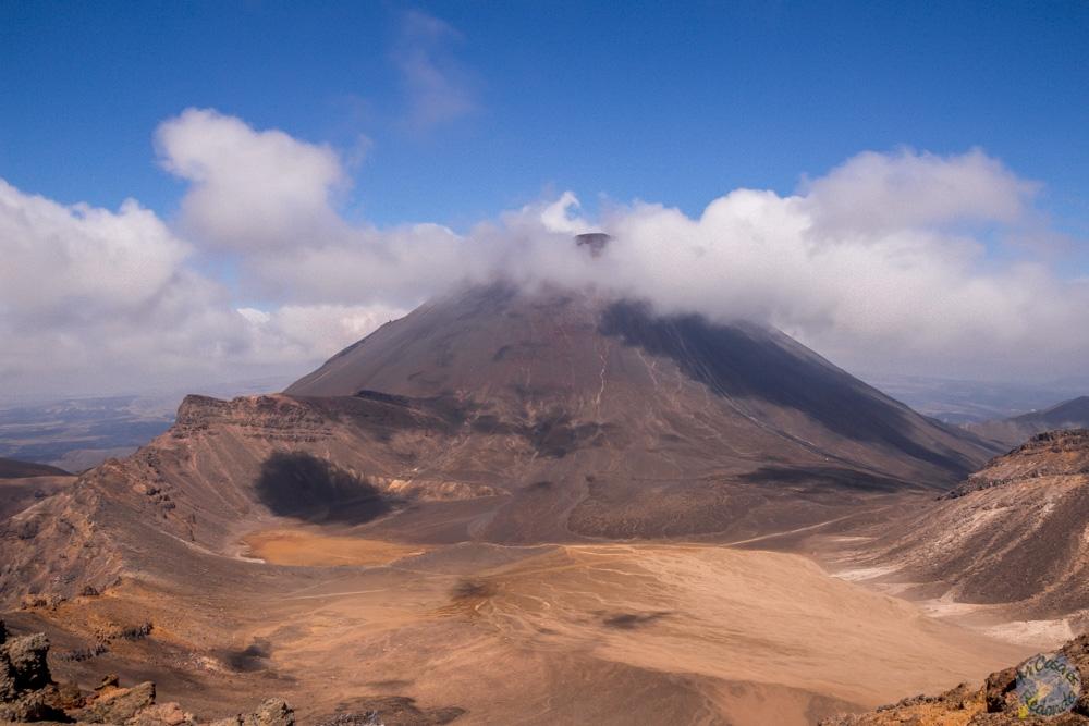 El volcán Ngauruhoe, ideal para tirar anillos y gollums