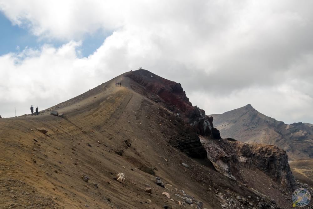 Últimas subidas en el Tongariro Alpine Crossing