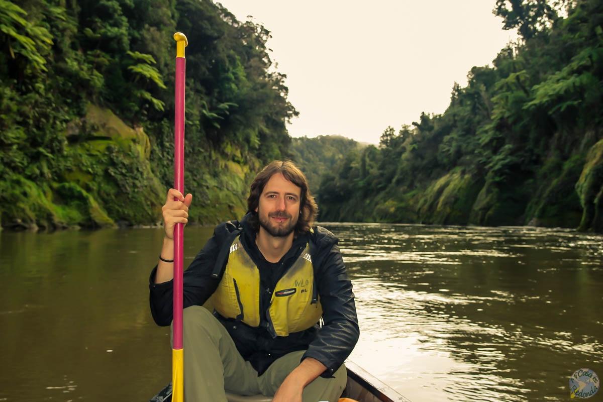 No se nota ni el cansancio ni la lluvia, Whanganui Journey
