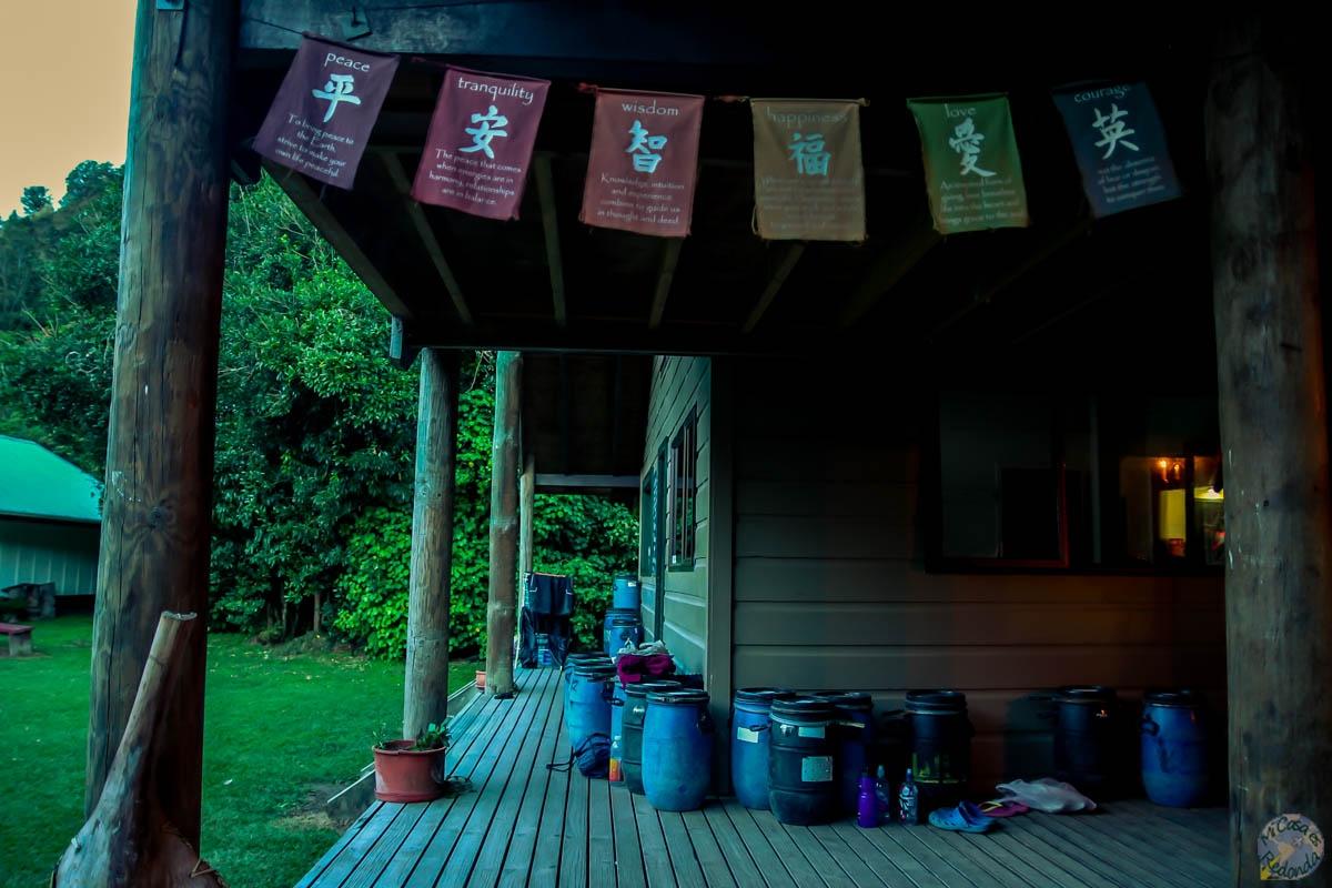 Tieke Kāinga hut, Whanganui Journey