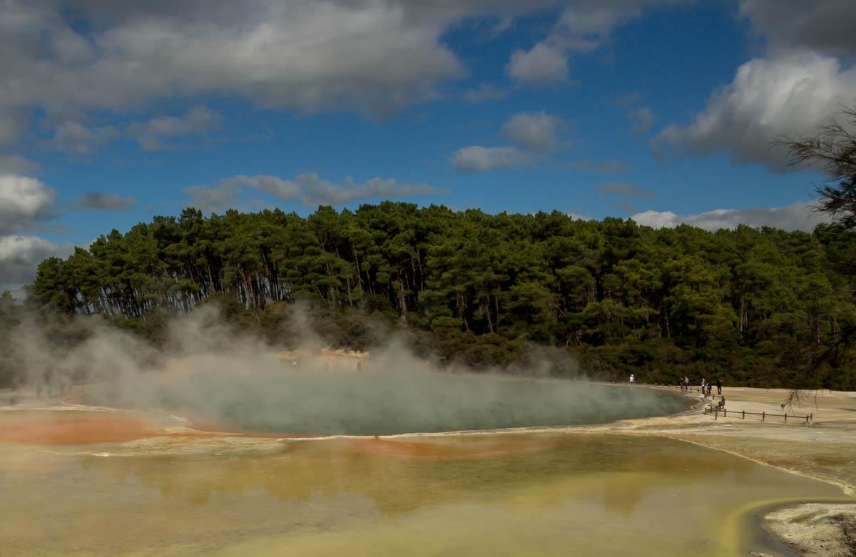 Paleta del Artista, Wai-O-Tapu, Rotorua