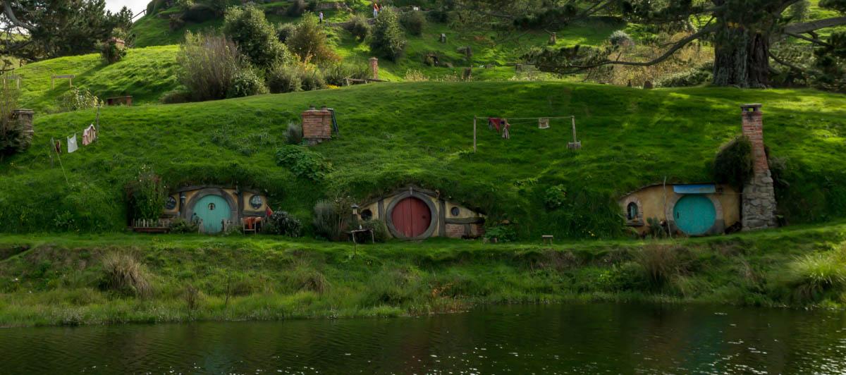 Agujeros de Hobbit. La Comarca