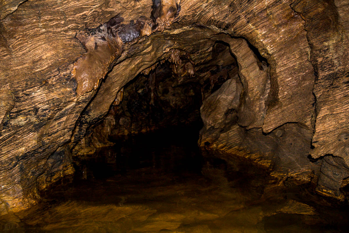 El agua llegaba hasta la cadera, Abbey Caves, Northland