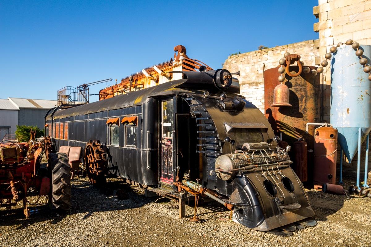 Cosas bizarras en el museo Steampunk, Oamaru