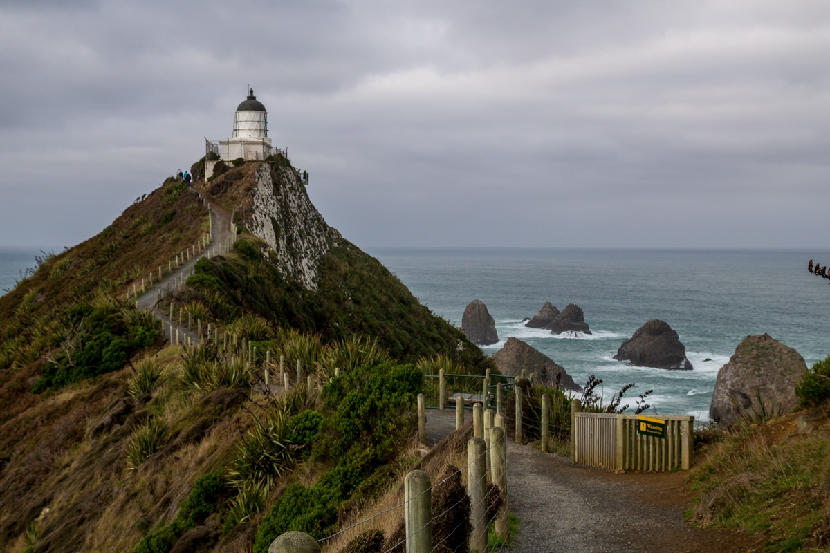 Nugget Point en los Catlins, por la Southern Scenic Route