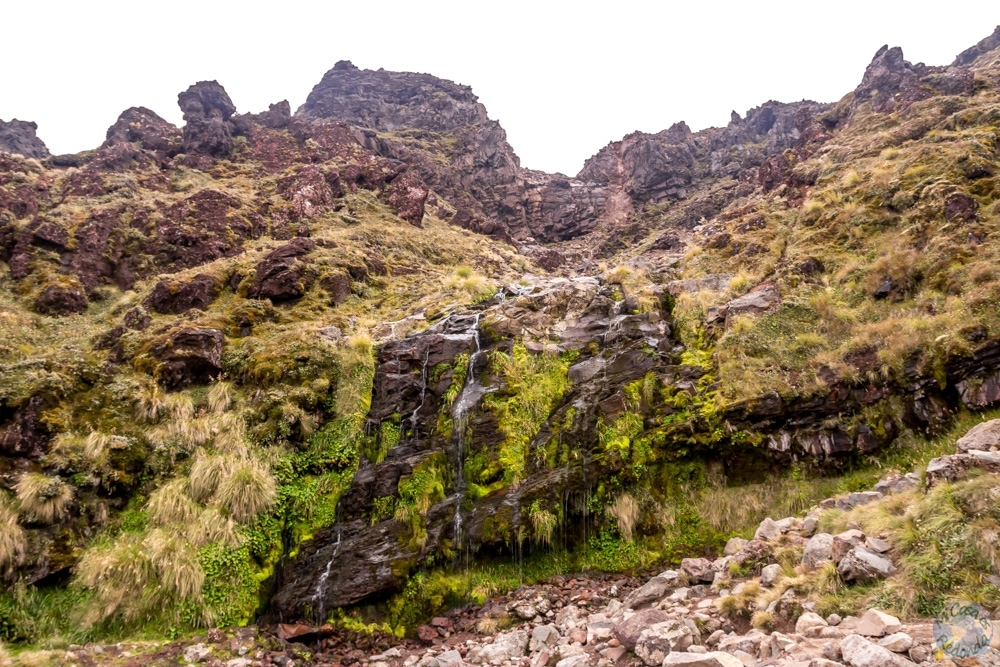 Cascadas de Soda Springs, Tongariro Alpine Crossing