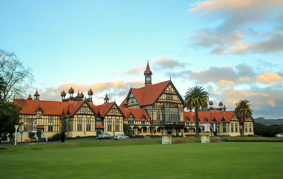 Museo de la ciudad, Rotorua