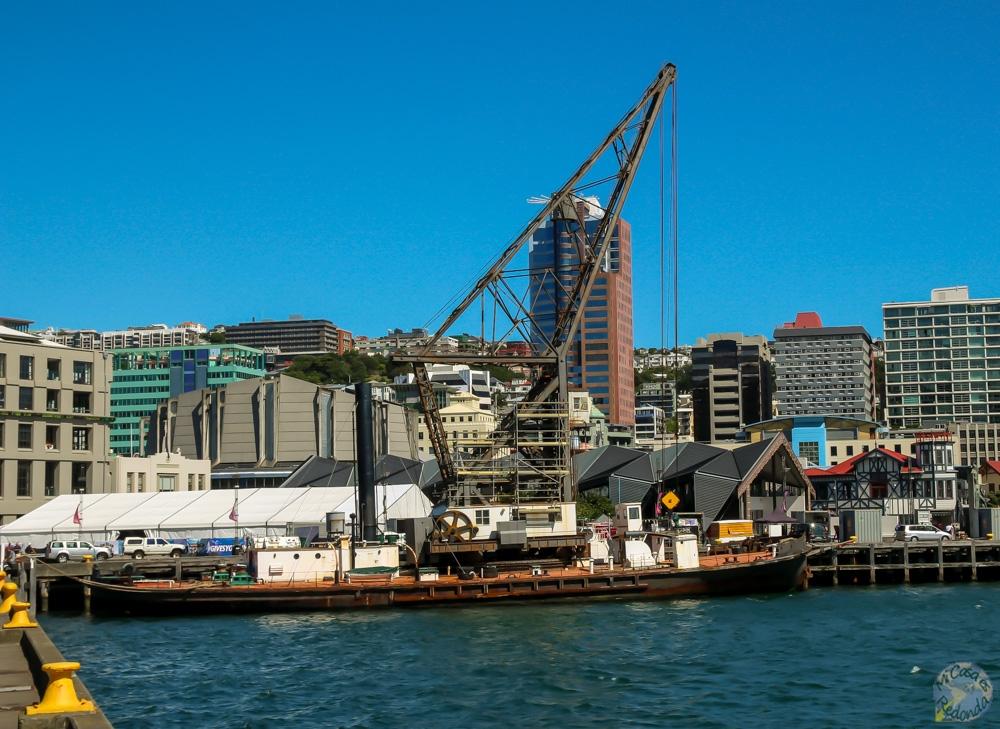 Hikitia, en Waterfront de Wellington