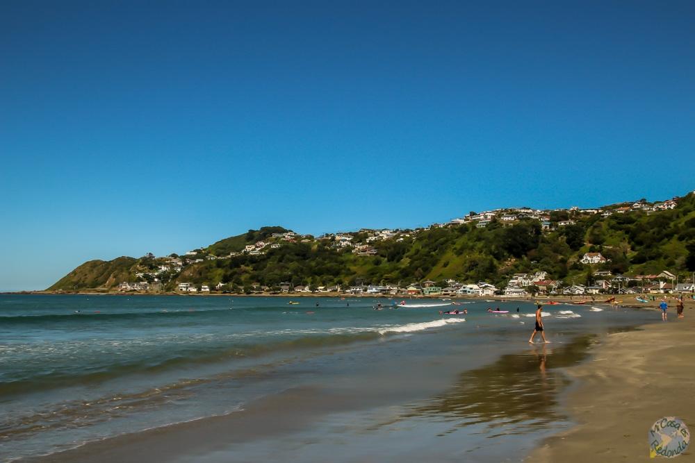 Lyall Beach, Wellington
