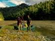 La primera parada del trayecto, Whanganui Journey