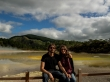 Aguantando la respiración, Wai-O-Tapu, Rotorua
