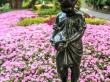 Escultura en el Botanic Garden, Wellington