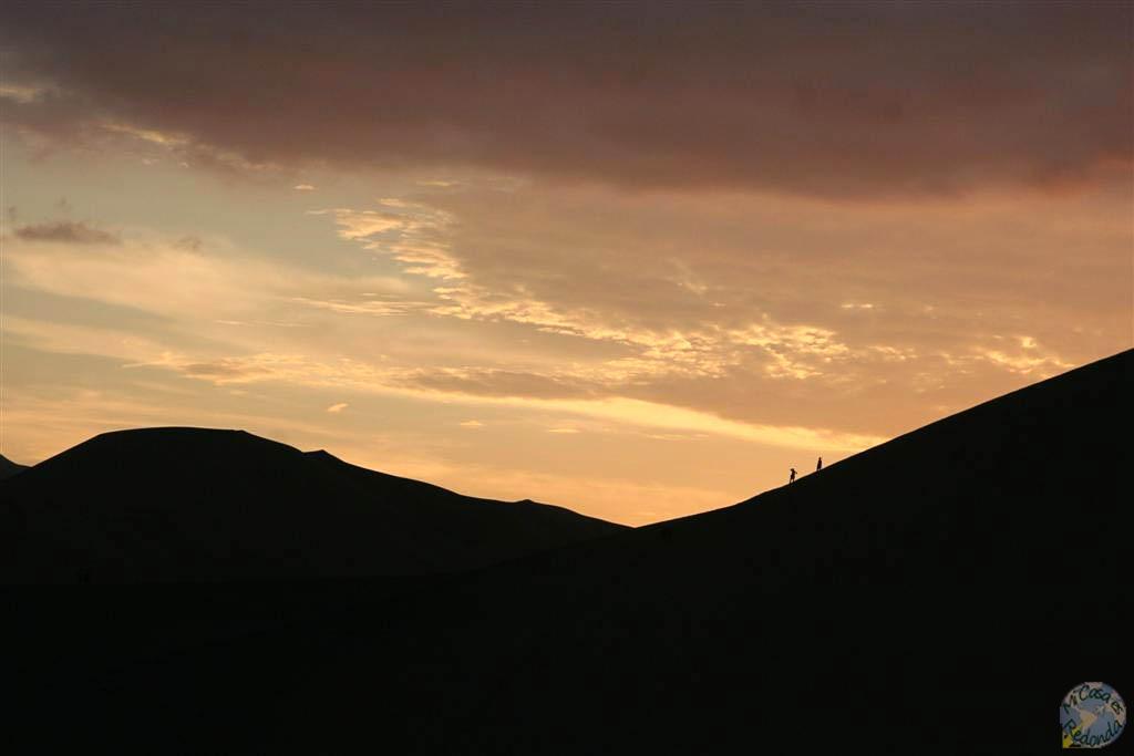 Atardecer en Huacachina