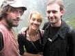 Con mi hermano y Elena en el Colca