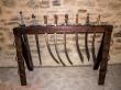 Armería en la fortaleza de Suceava