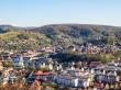 Vista de Sighisoara desde la colina de enfrente
