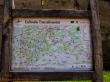 Mapa con las rutas en Biertan