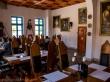 Interior del restaurante de Biertan